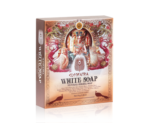 VOODOO CLEOPATRA WHITE HERBAL SOAP